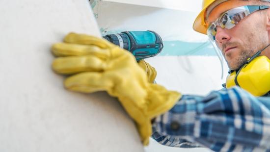 Começar a trabalhar com drywall