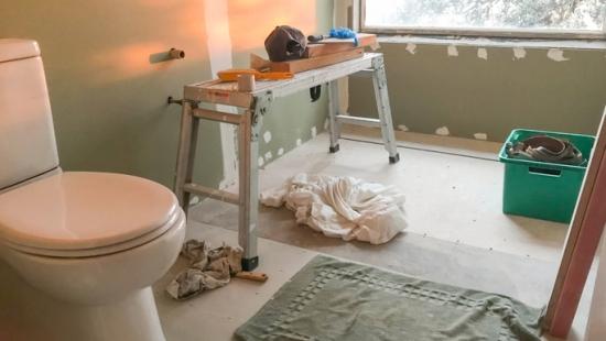 Drywall pode ser aplicado em áreas úmidas
