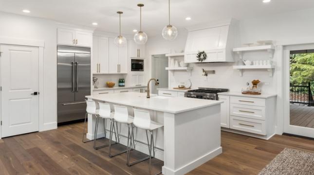 Drywall em cozinhas